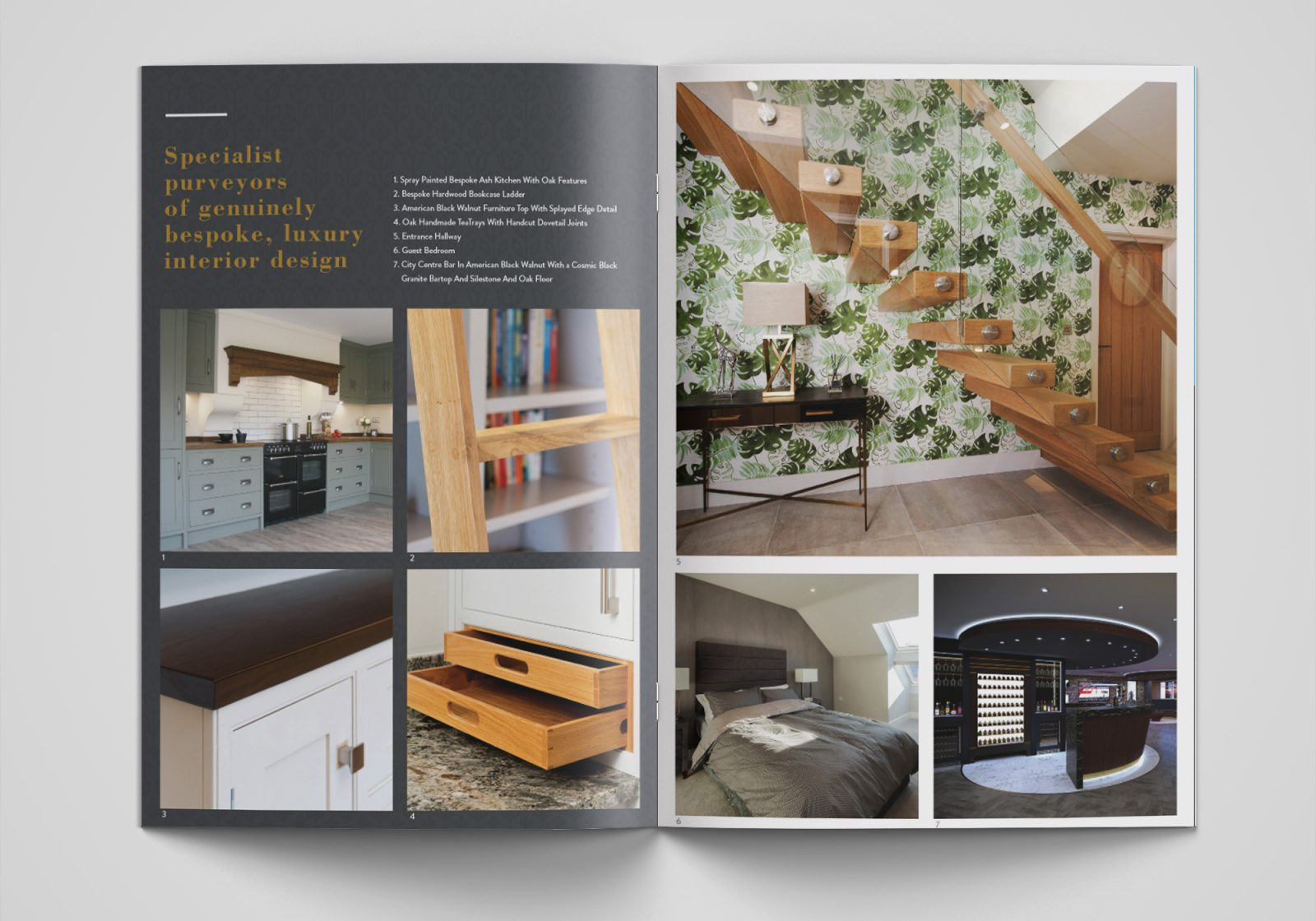 Popeford Interiors A5 Brochure Inside Pages